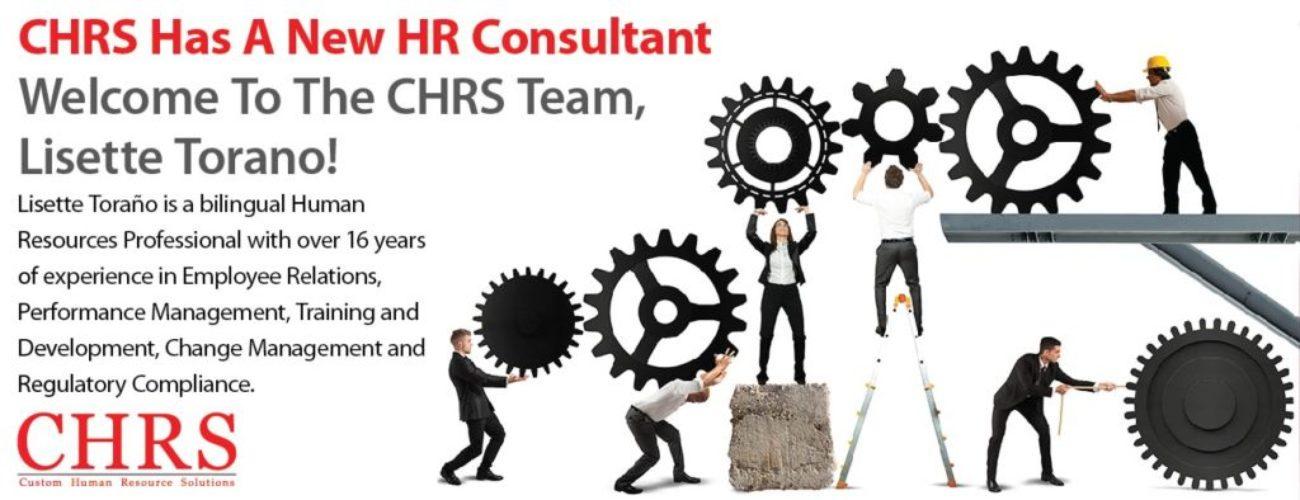 CHRS HR Consultant Lisette Torano